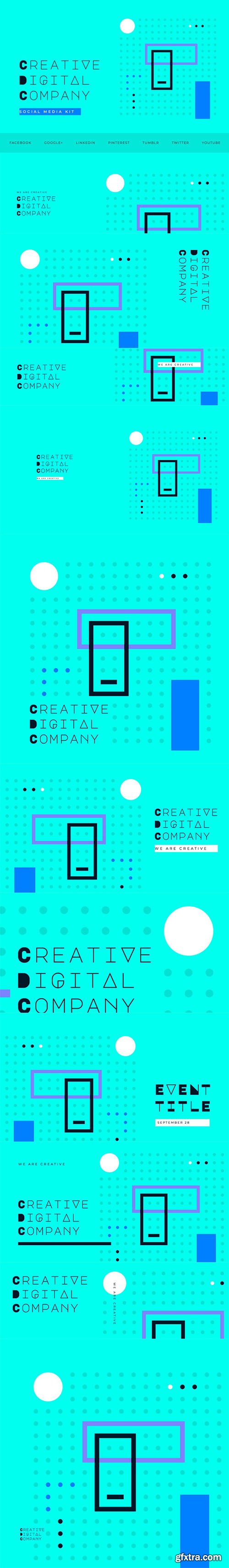 Creative Digital Agency - Social Media Kit