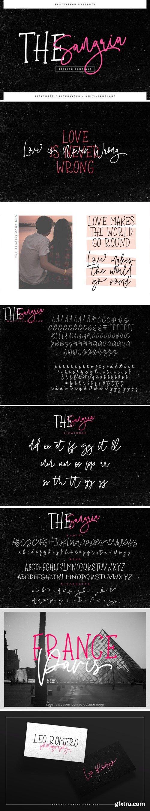 CM - The Sangria font duo 3383346