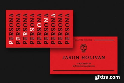Persona Creative Business Card Template