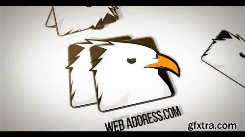 Videohive Minimal Business Falling Logos 23168977