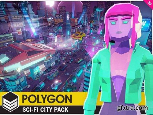 POLYGON - Sci-Fi City Pack