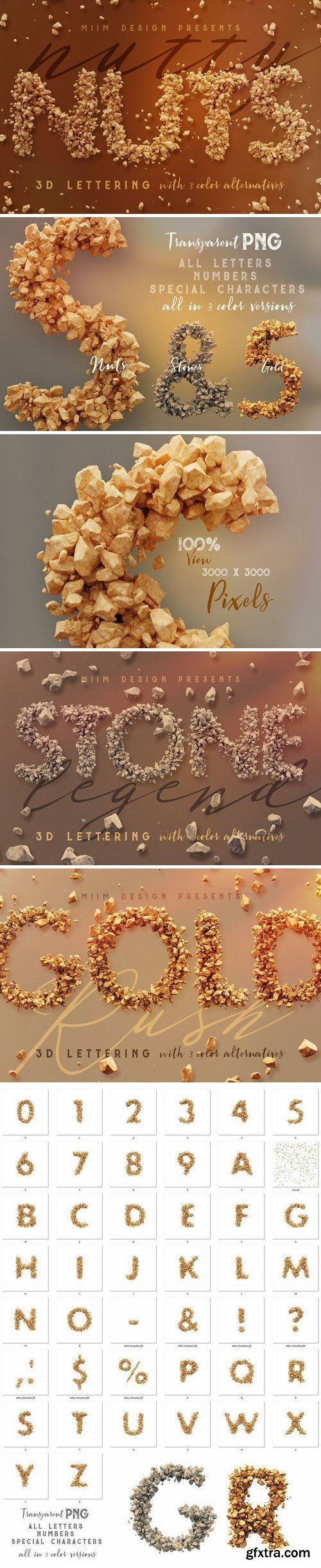 CM - Nutty Nuts - 3D Lettering 2196013