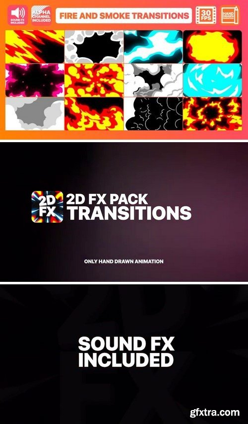 MotionArray Fire And Smoke Transitions 165929