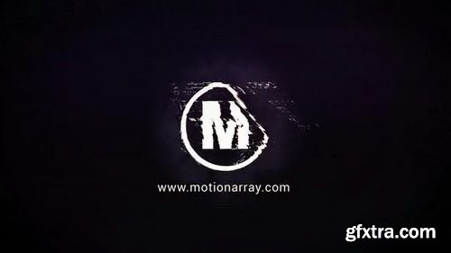MotionArray Glitch Logo 164161
