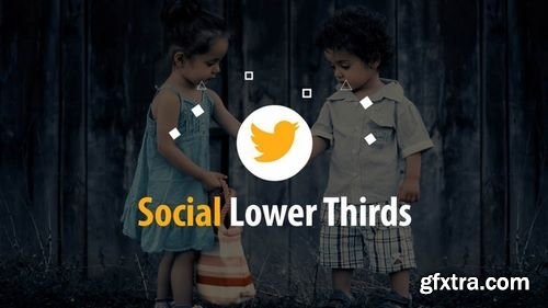 MotionArray Social Lower Thirds 165435