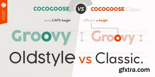 Cocogoose Classic Font Family