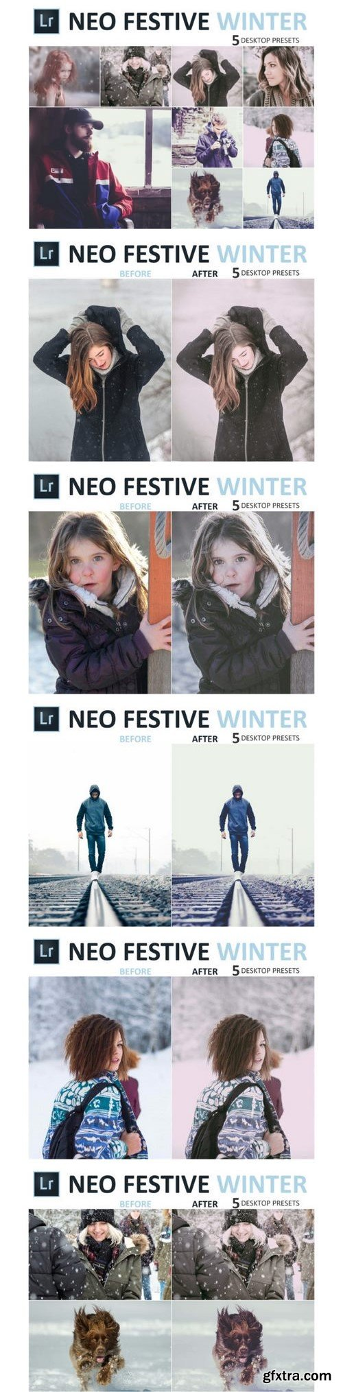 Thehungryjpeg - Neo Festive Winter Desktop Lightroom Presets 3524672