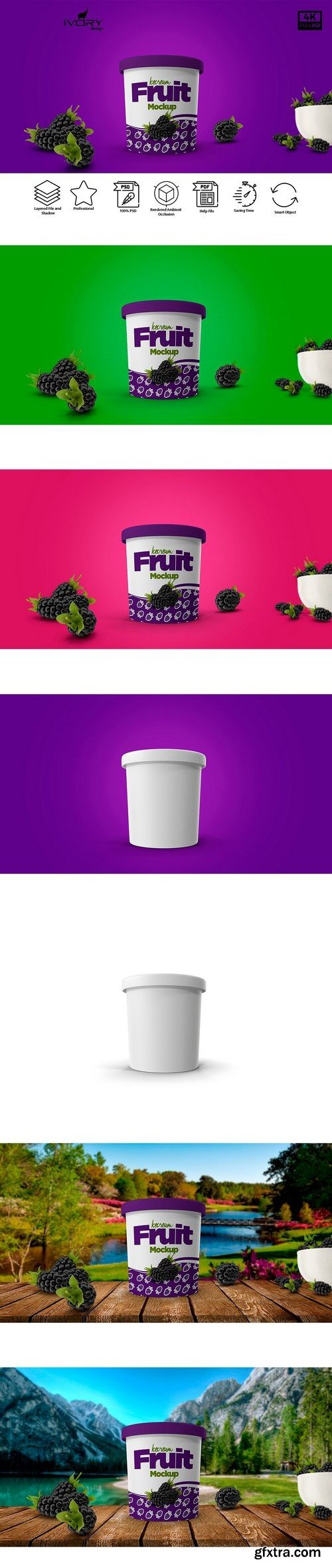 CM - Ice Cream Cup Mockup 2135666
