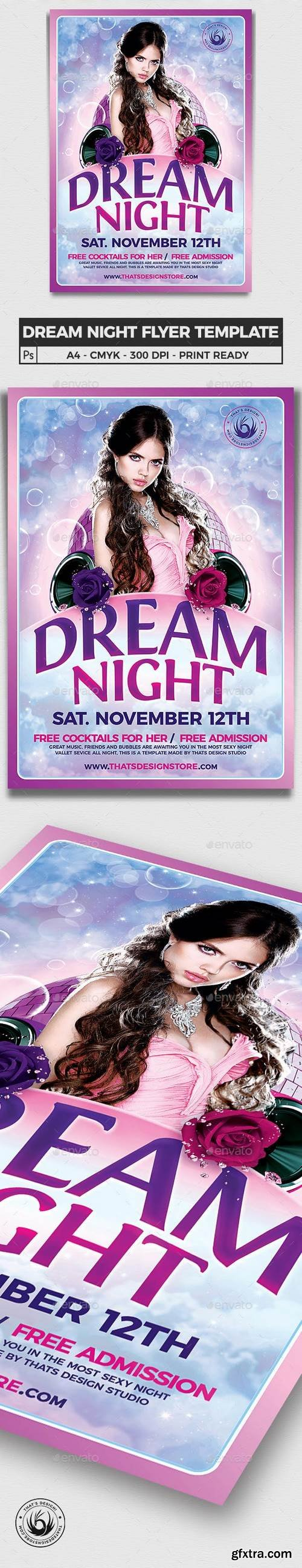 Graphicriver - Dream Night Flyer Template 15331912 - Updated !