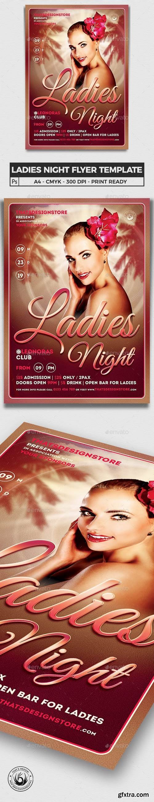 Graphicriver - Sensual Ladies Night Flyer Template 6331341- Updated !