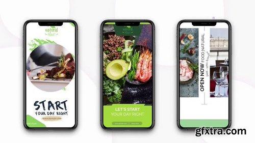 MotionArray Instagram Stories: Healthy Food 165397