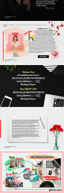 CM - Balltimore Sans - Handlettering Sans 3364007
