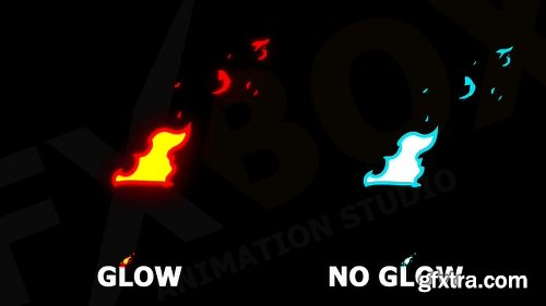 Videohive Cartoon Fire FX 23012383