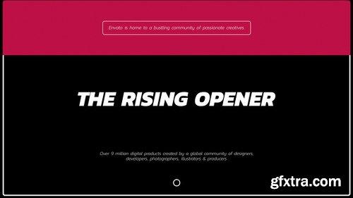 Videohive Rising Opener 21680335