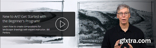 A Beginner's Guide to Drawing | Lesson 7: Landscape Drawing with Bill Perkins