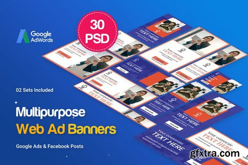 Multipurpose, Business, Startup Banners Ad - TADRZJ