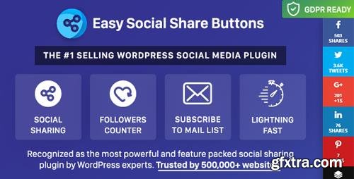 CodeCanyon - Easy Social Share Buttons for WordPress v5.8 - 6394476 - NULLED