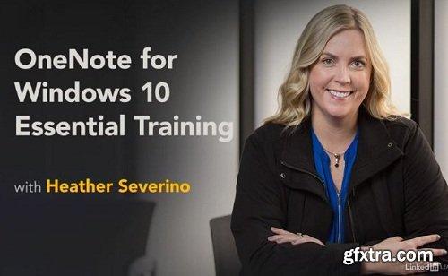 Lynda - OneNote for Windows 10 Essential Training