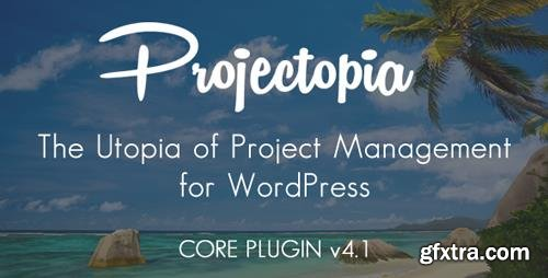CodeCanyon - Projectopia v4.1 - WP Project Management - 11788321