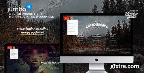 ThemeForest - Jumbo v3.4 - A 3-in-1 full-screen menu for WordPress - 8103070