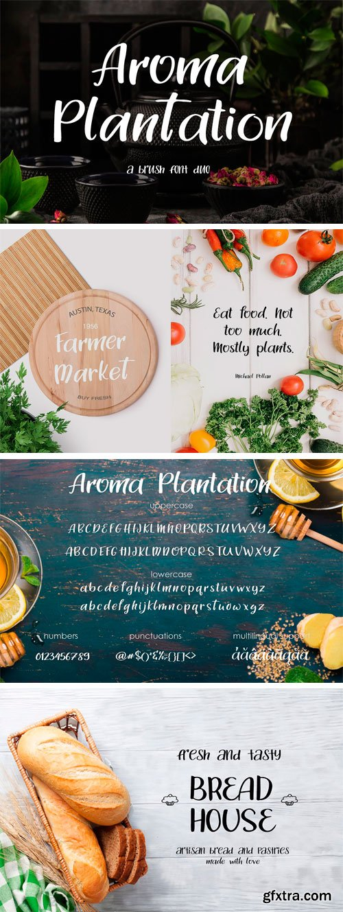CM - Aroma Plantation - Font Duo 3393503