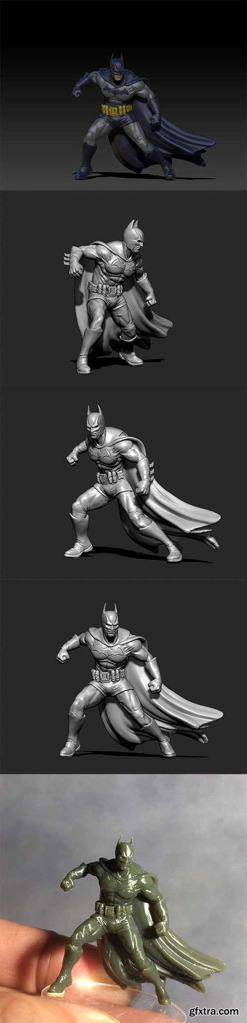 Cgtrader - Batman 3D print model