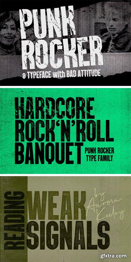 CM - PunkRocker Font Trio 3395573