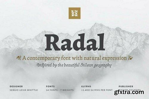 Radal Font Family