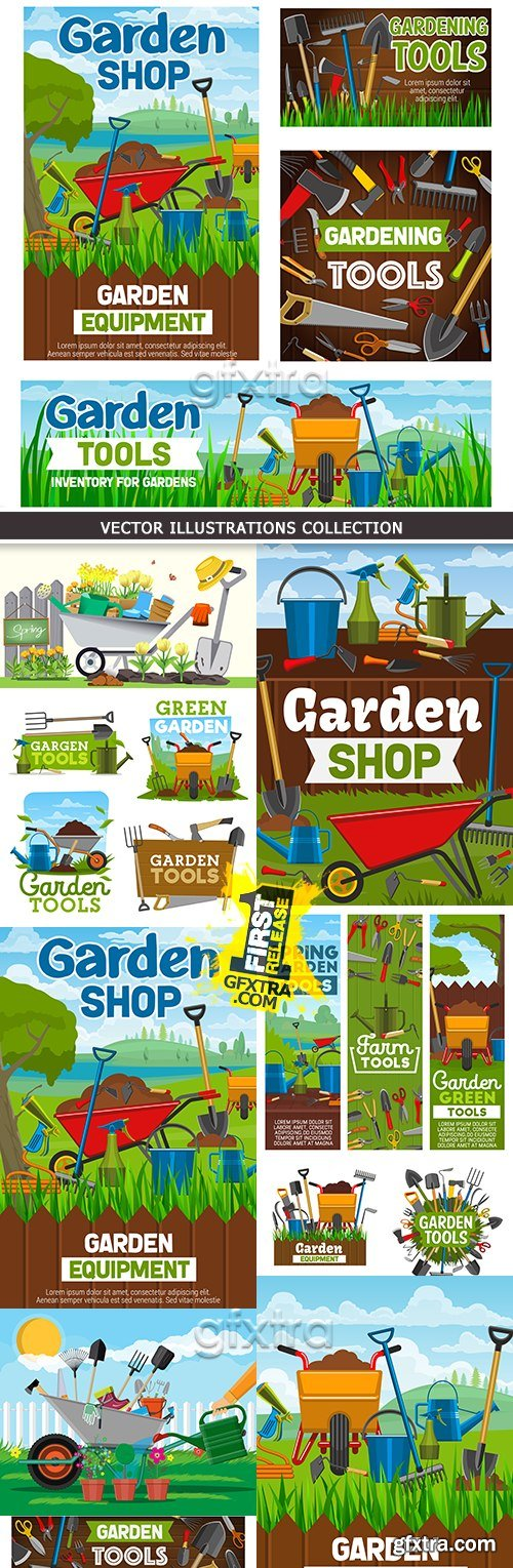 Gardening farm and subsidiary stock for processing