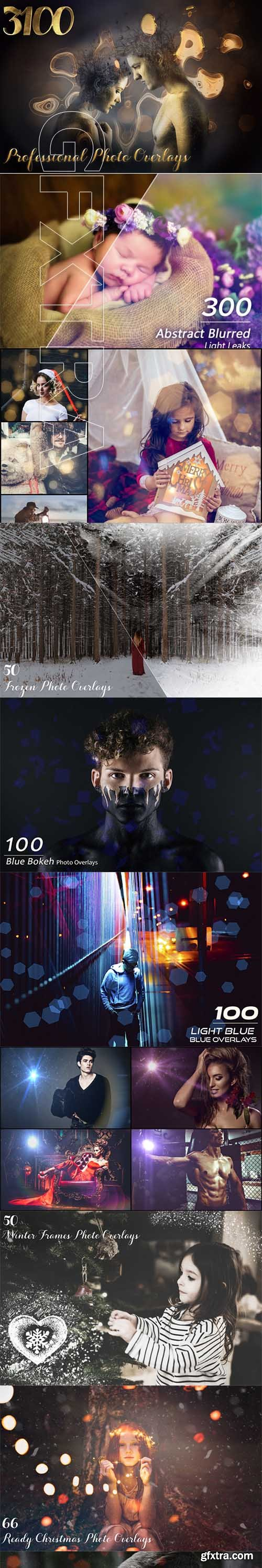 3108 Professional Photo Overlays