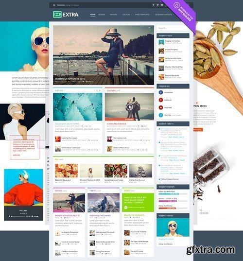 Extra v2.19.9 - WordPress Theme - ElegantThemes