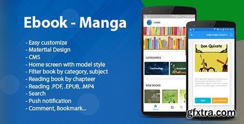 CodeCanyon - Ebook - Manga - Comic (Read multi format) v1.4 - 21961780