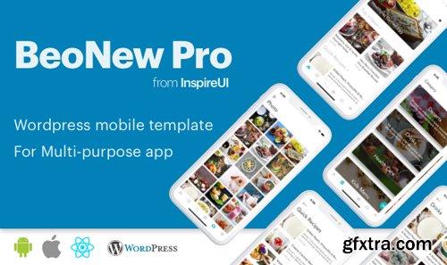 ThemeForest - BeoNews Pro v2.9.2 - React Native mobile app for Wordpress - 19186520