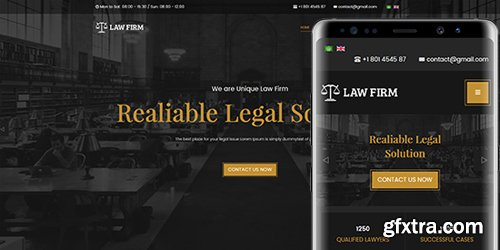 JoomlArt - JA Law Firm v1.0.5 - Best Joomla Template For Lawyer And Business Websites (Update: 21 January 19)