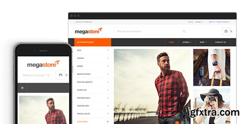 JoomlArt - JA Megastore v1.0.7 - Responsive eCommerce Joomla Template