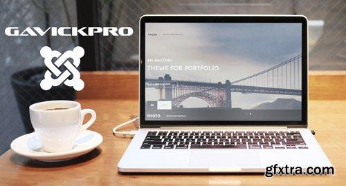 GavickPro - Photo v3.27 - Architecture Joomla Template