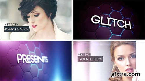 Videohive Glitch Slideshow 2 8471785