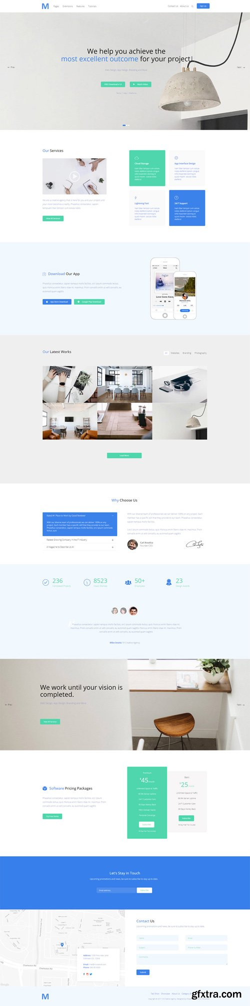 Shape5 - M Creative Agency v1.0.2 - Joomla Template