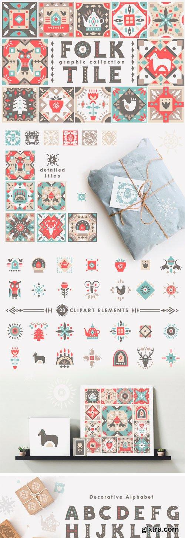 CM - Folk Tile - Graphic Collection 2960384