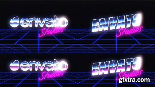 Videohive Retro Logo Reveal Pack (Pack of 3) 15023614