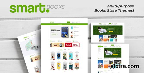 ThemeForest - Smartbook v1.0 - Book Store Responsive Prestashop Theme - 23016421