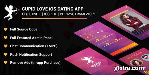 CodeCanyon - Cupid love iOS Native Application v5.0 - 19936394