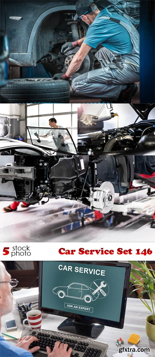 Photos - Car Service Set 146