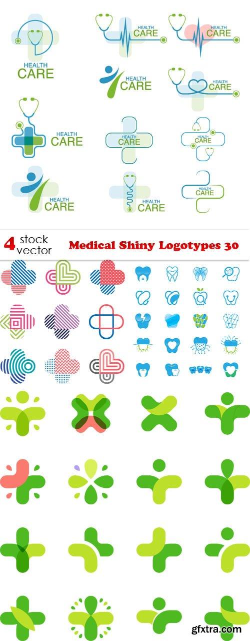 Vectors - Medical Shiny Logotypes 30