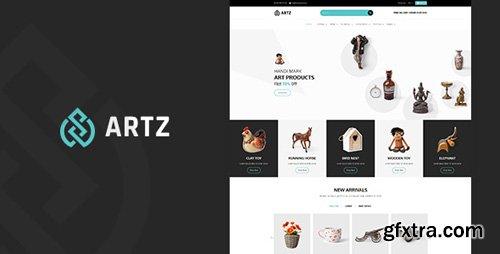ThemeForest - Artz v1.0 - Art, Photography Shopify Theme - 22463166