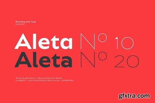 Bw Aleta Font Family