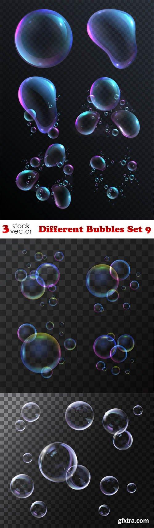 Vectors - Different Bubbles Set 9