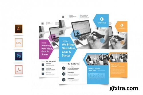 Corporate Business Flyer Template Vol 3