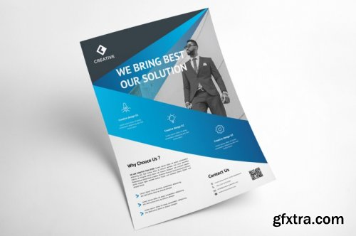 Corporate Business Flyer Template Vol 4