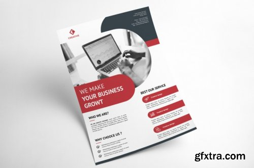 Corporate Business Flyer Template Vol 5